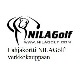 NILAGolf gift voucher